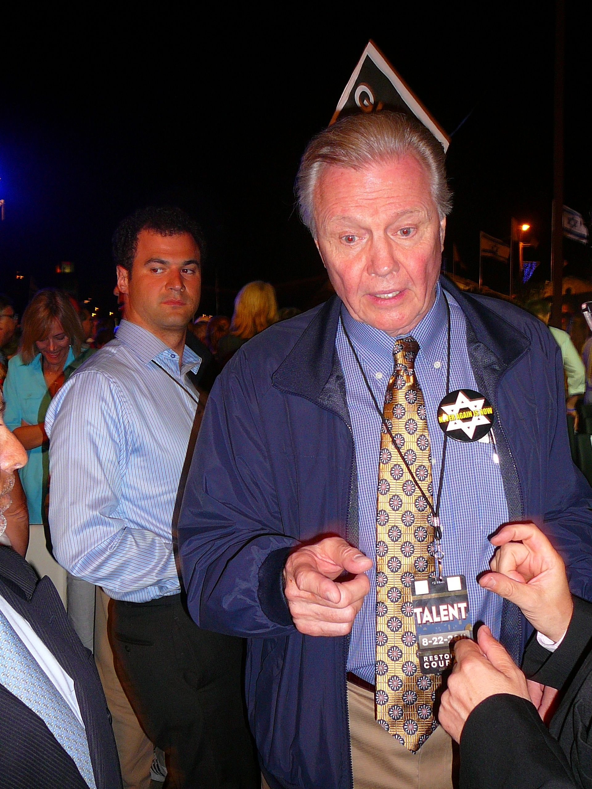 Never Again Is Now-Israel August 2011-Jon Voight-1